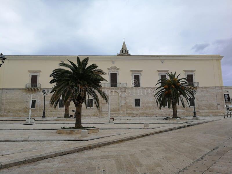 Trani - Palazzo Valenzano fotografia stock