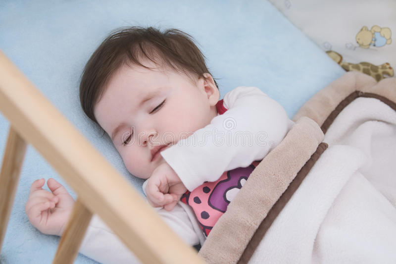 Tranquil baby royalty free stock photo