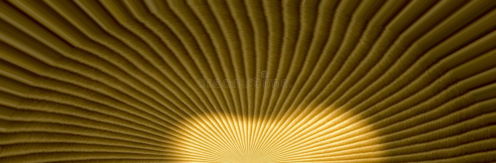 Tranquil background composed of the light source. Background composed of the light source going from inside to outside royalty free stock photography