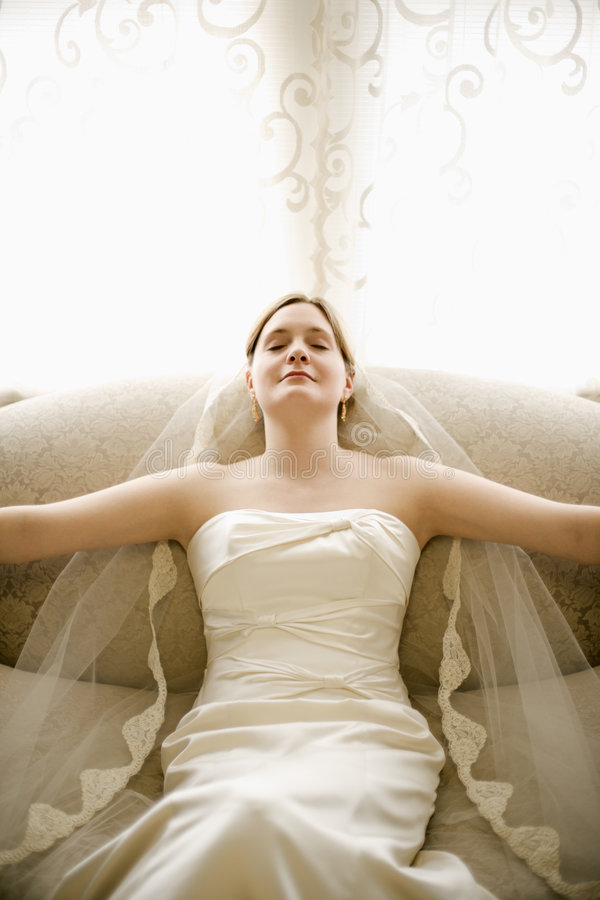 Download Tranquil bride. stock image. Image of tranquil, relaxed - 2543037