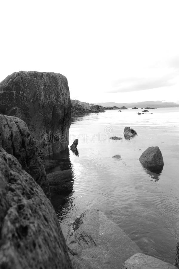 Download Tranquil Kerry Black And White View Stock Image - Image: 20844643