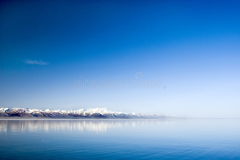 Tranquil lake royalty free stock photography