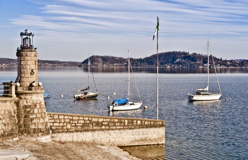 Tranquil marina bay