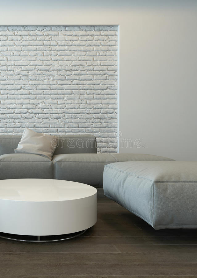 modern grey living room. Download Tranquil Modern Grey Living Room Interior Stock Illustration  Image 50898073