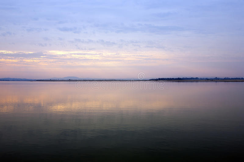 Tranquil Morning Colors Royalty Free Stock Photo