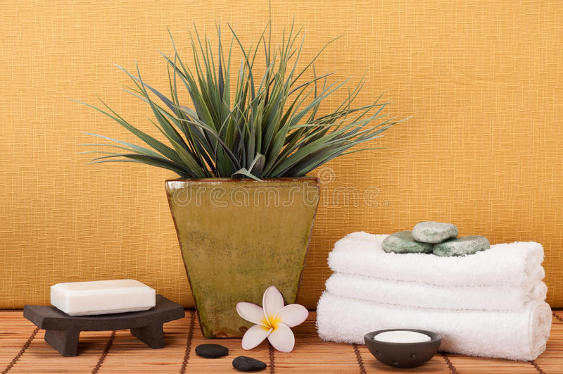 Tranquil Spa Royalty Free Stock Photography