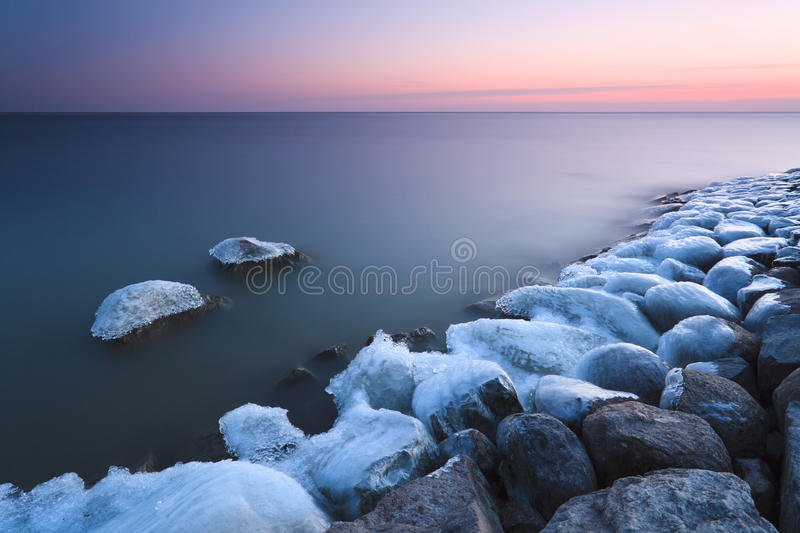 Tranquil Sunset Stock Image