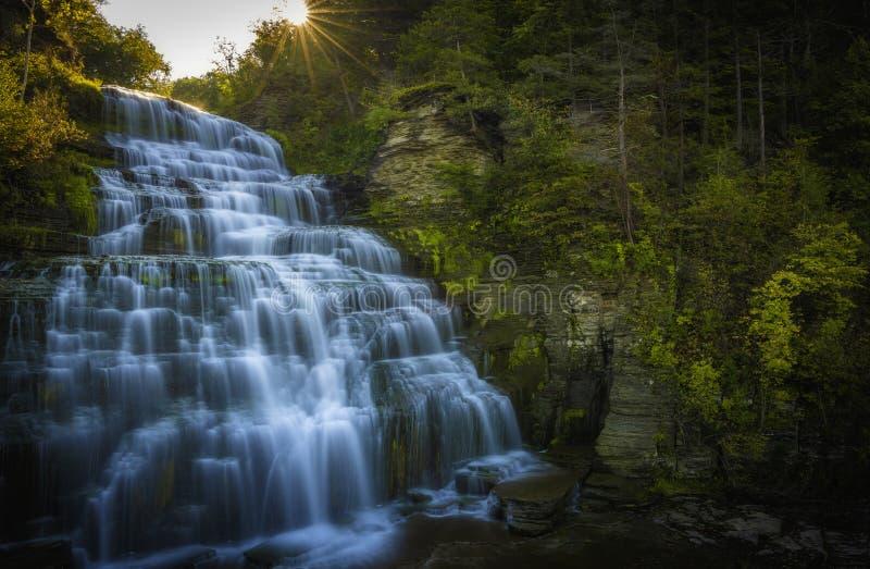 Tranquilidade do norte do estado de New York foto de stock royalty free