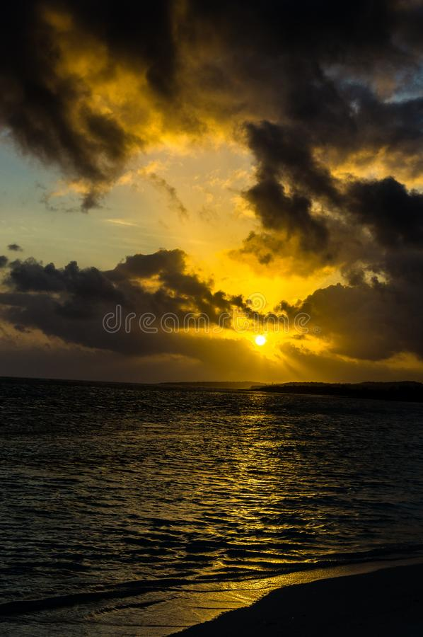 Tranquilité après tempête photographie stock libre de droits