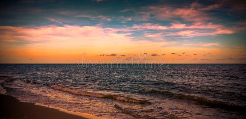 Tranquilité sur le Golfe photo stock