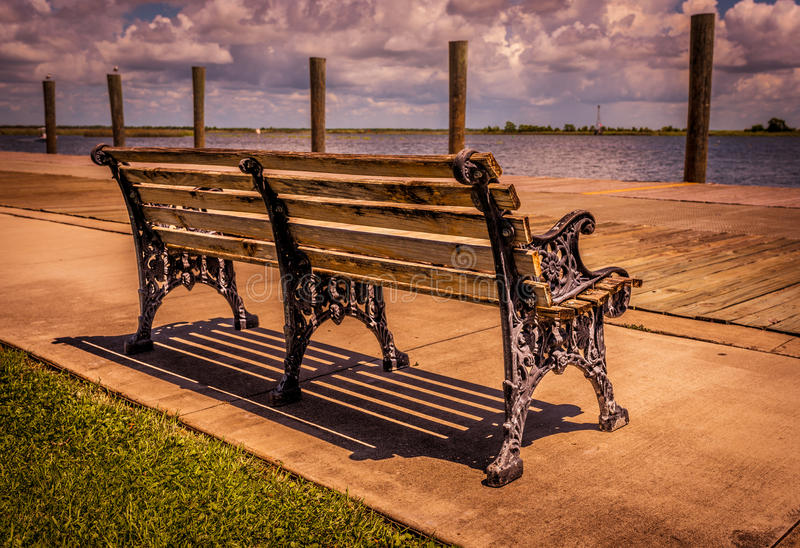 Tranquilité sur le Golfe photographie stock libre de droits