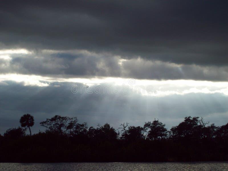 Tranquility& x27 de coucher du soleil ; ‹de s†image libre de droits