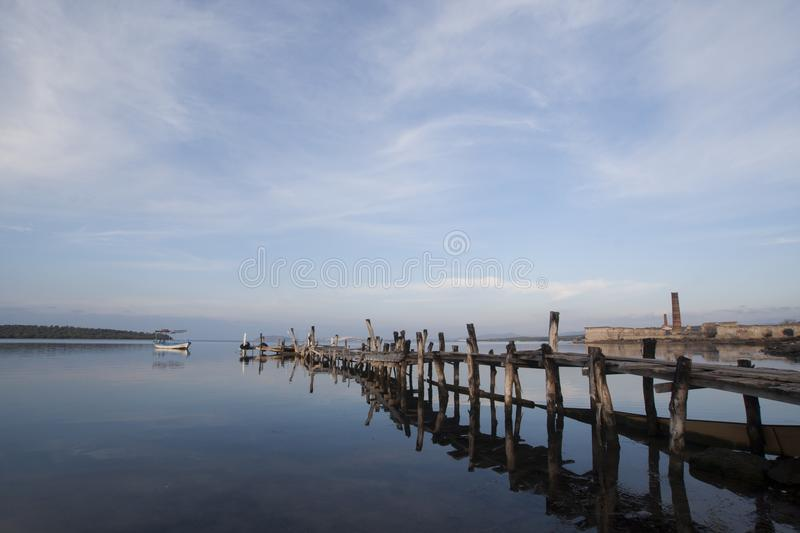 Tranquility and the peer stock images