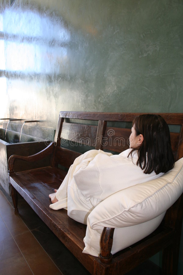 Free Tranquility - Woman Relaxing At Spa Stock Photos - 618083