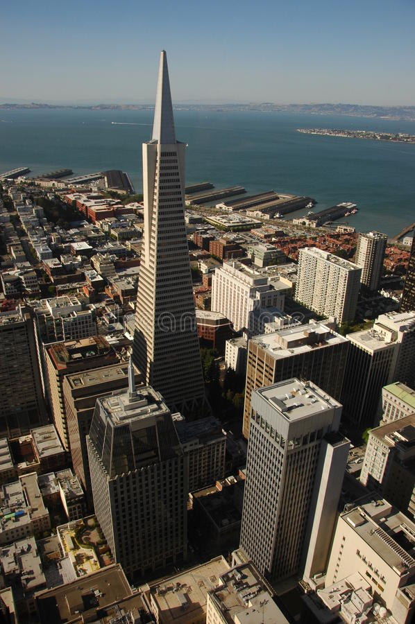 trans здания америки стоковое изображение rf