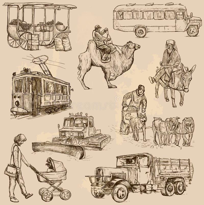 Trans. 5 vektor illustrationer