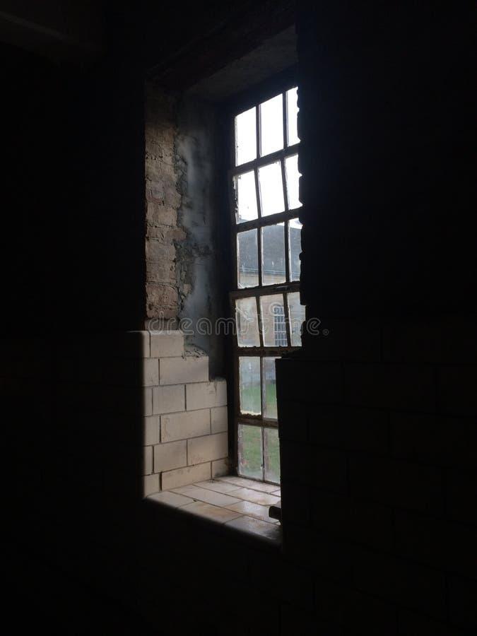 Trans Alleghany Lunatic Asylum. A peek at the insane asylum mental hospital in Weston West Virginia stock photography