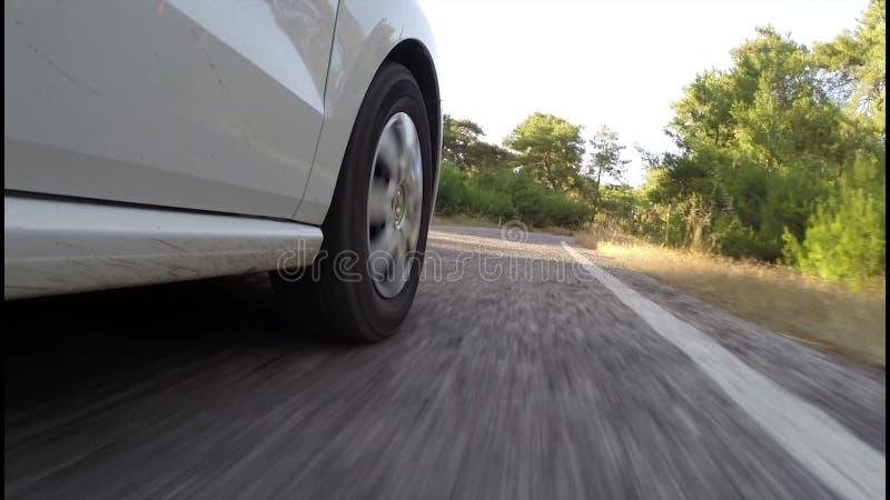 Trans. med bilen stock video