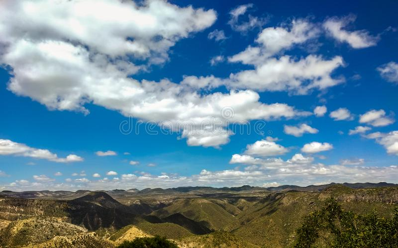 Trans Mexicaanse Vulkanische Riem Oaxaca, Mexico stock afbeelding