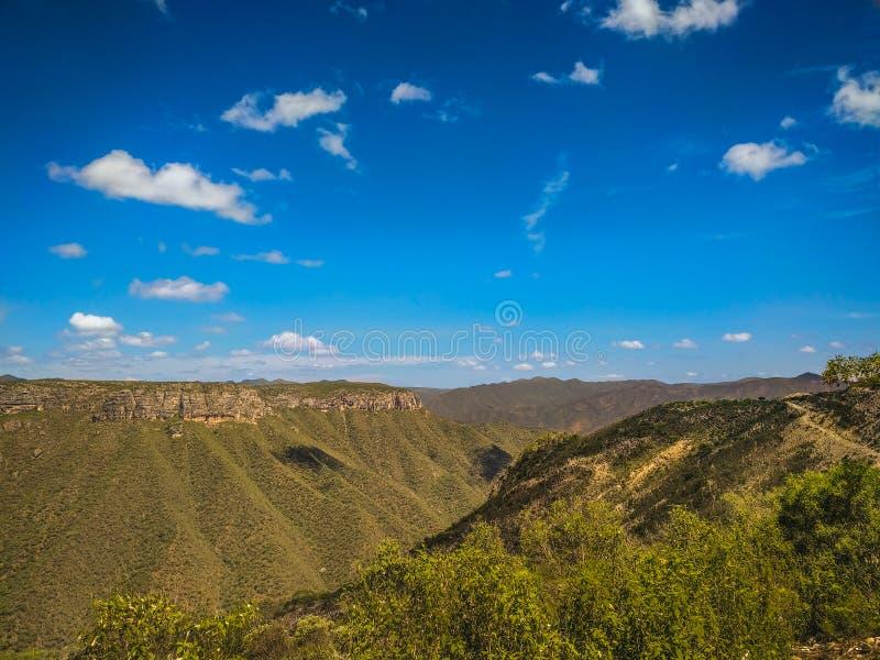 Trans Mexicaanse Vulkanische Riem Oaxaca, Mexico stock foto's