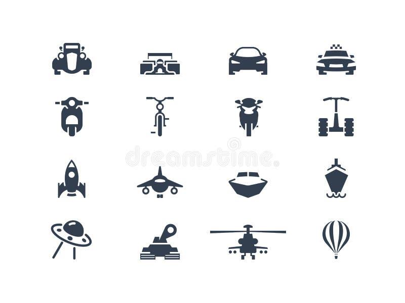 Trans.symboler 2 royaltyfri illustrationer