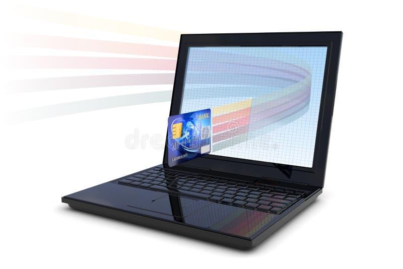 Transacción electrónica libre illustration