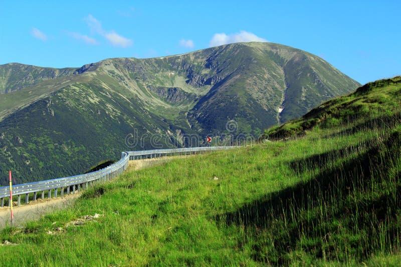 Transalpina droga, Transylvanian Alps, Rumunia fotografia royalty free