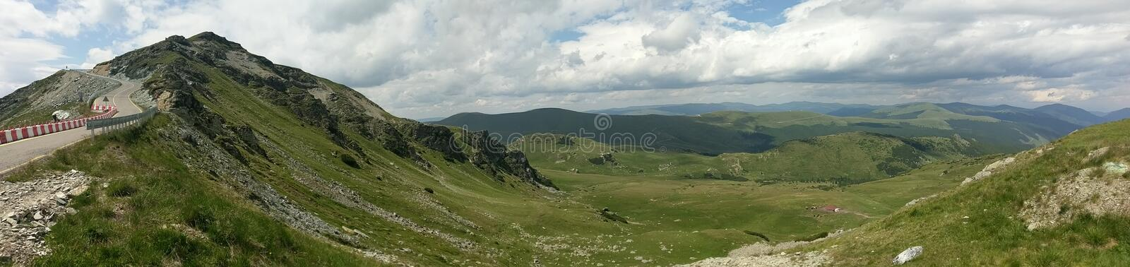 Transalpina road in Romania royalty free stock image