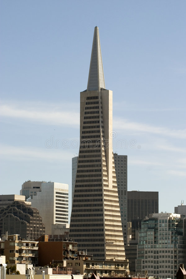 Free Transamerica Building At Noon Royalty Free Stock Images - 2469979