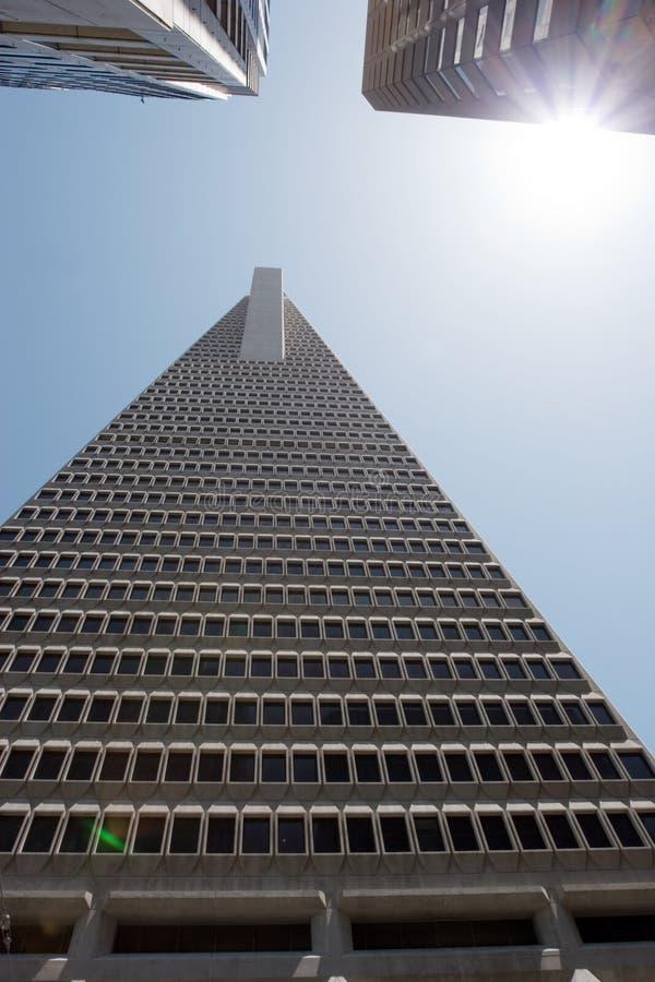 Transamerica Pyramid stock photography