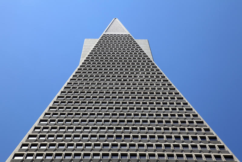 Transamerica Pyramid, San Francisco, royalty free stock image