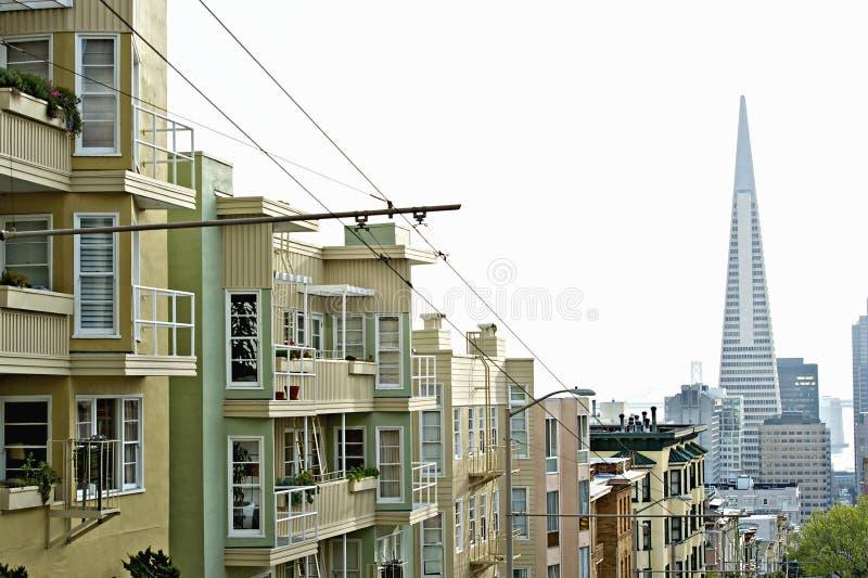 Transamerica Pyramid San Francisco designed by William Pereira royalty free stock photography