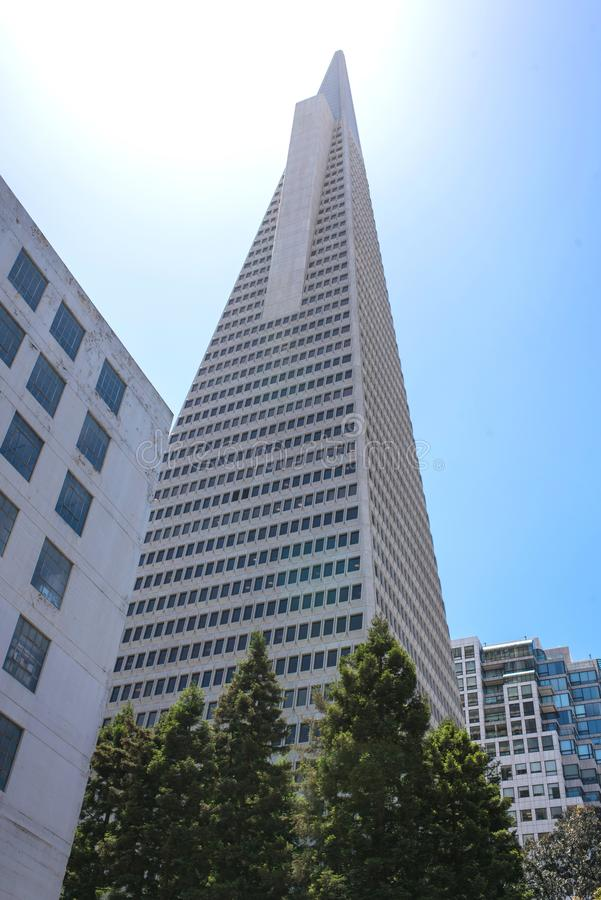 Business Area And Downtown Of San Francisco Editorial