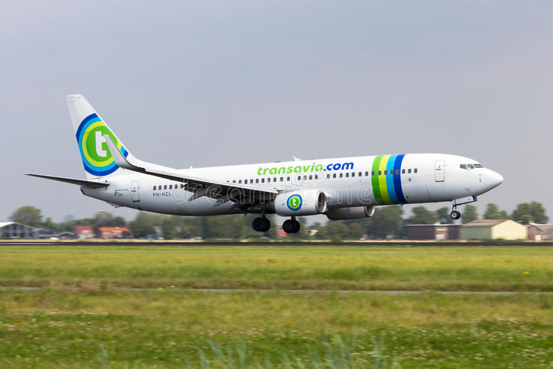 Transavia Boeing royalty free stock images
