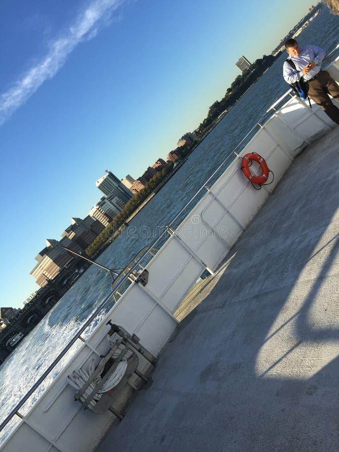 Transbordador al nyc imagenes de archivo