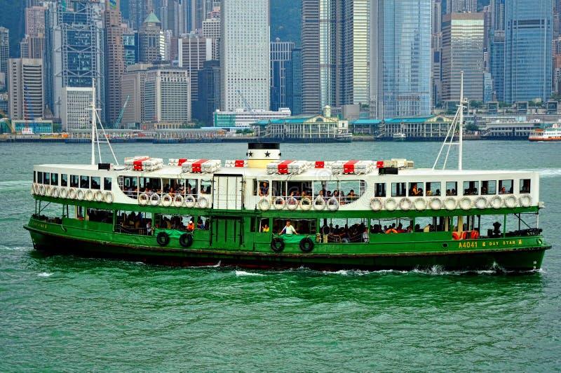 Transbordador de la estrella de Hong-Kong fotos de archivo