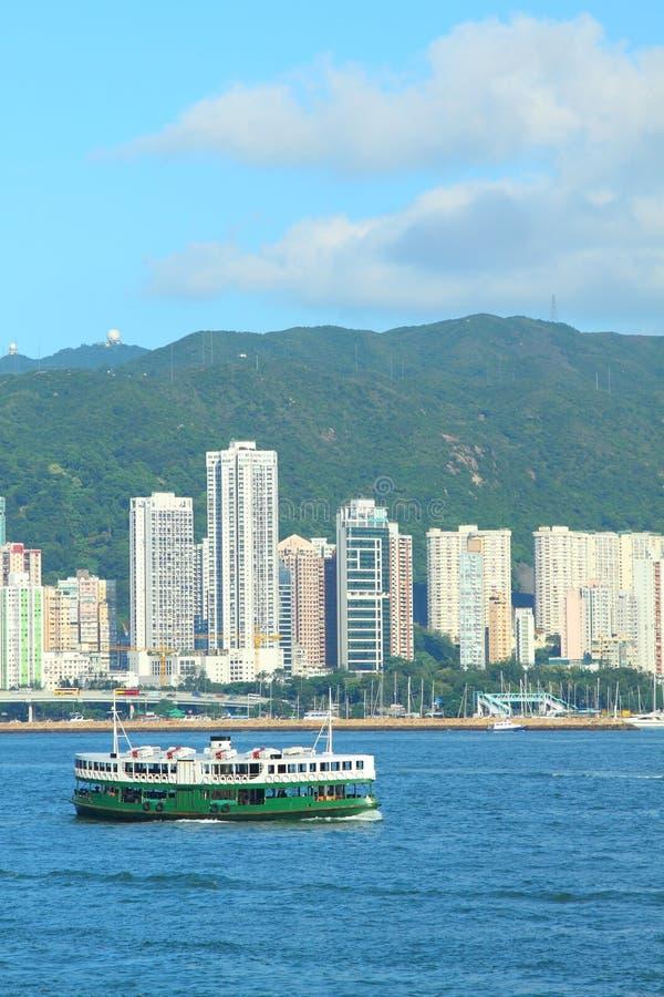 Transbordador de la estrella en Hong-Kong foto de archivo