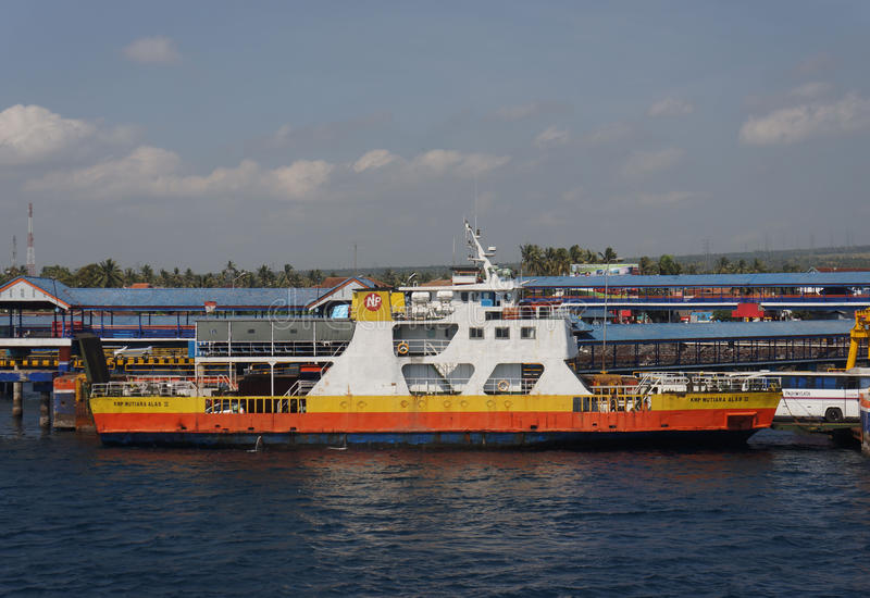 transbordador de la Inter-isla imagenes de archivo