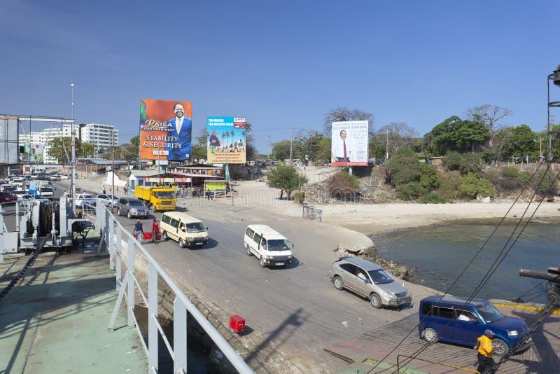 Transbordador de Likoni en Mombasa, Kenia, editorial imágenes de archivo libres de regalías