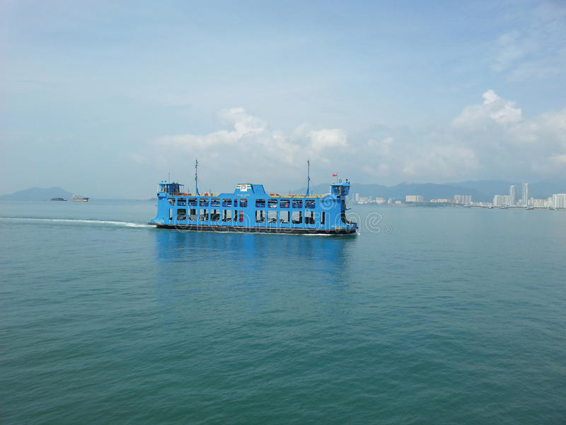 Transbordador de Penang fotografía de archivo