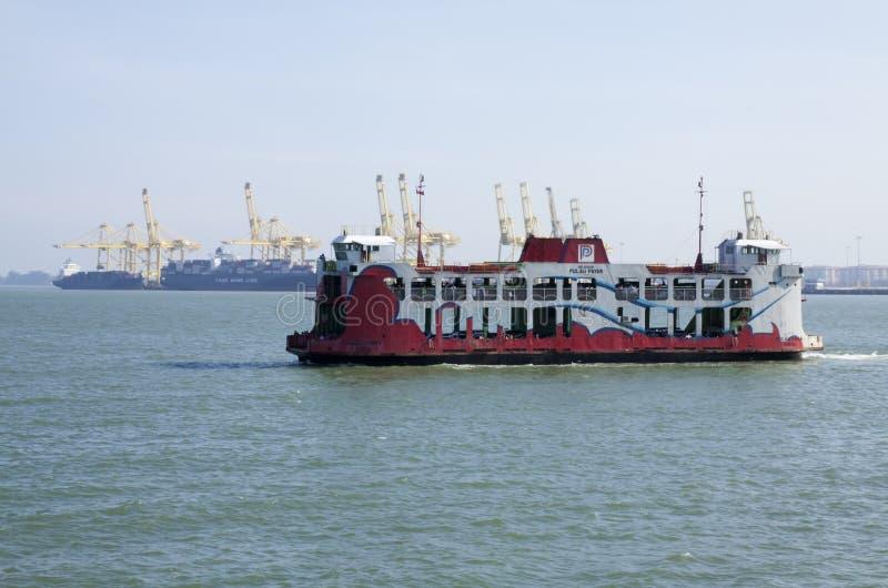 Transbordador de Penang, Malasia fotografía de archivo