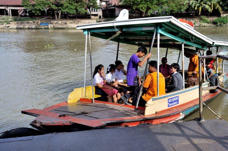 Transbordador en Tailandia imagen de archivo libre de regalías