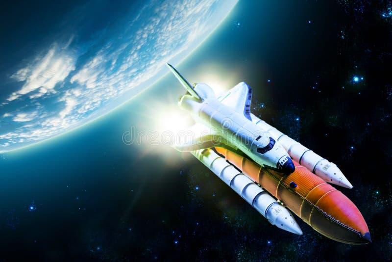Transbordador espacial imagen de archivo