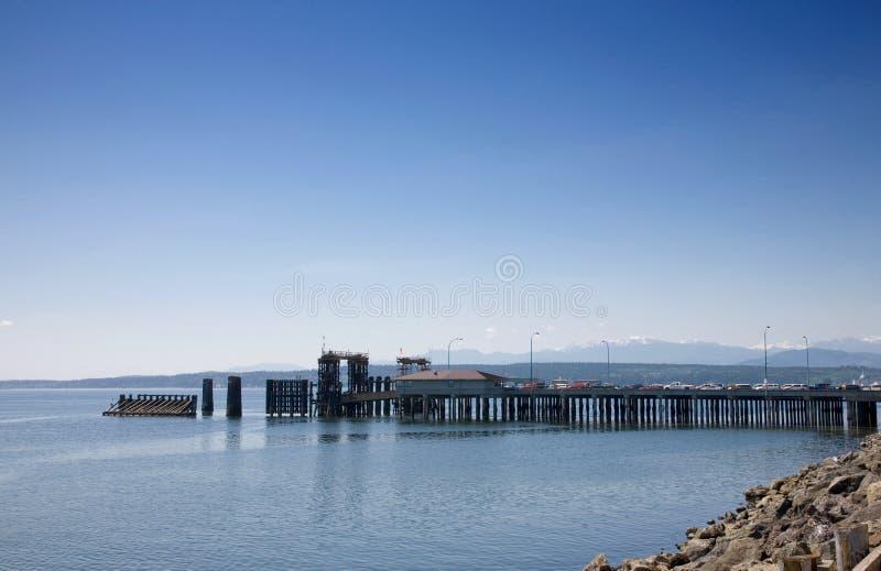 Transbordador portuario de Townsend imagen de archivo