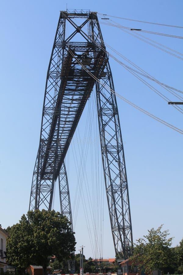 Transbordeur de Rochefort (Frances) de Pont photos stock