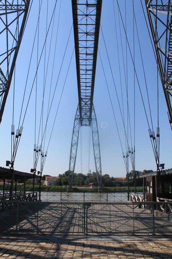 Transbordeur de Rochefort Pont (Франция) стоковое фото