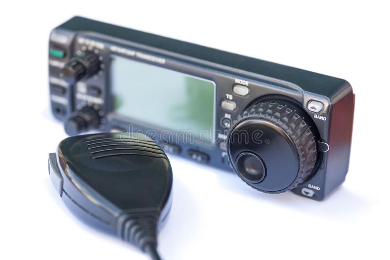 Download Transceiver Radio Station And Microphone Stock Photo - Image: 33483210