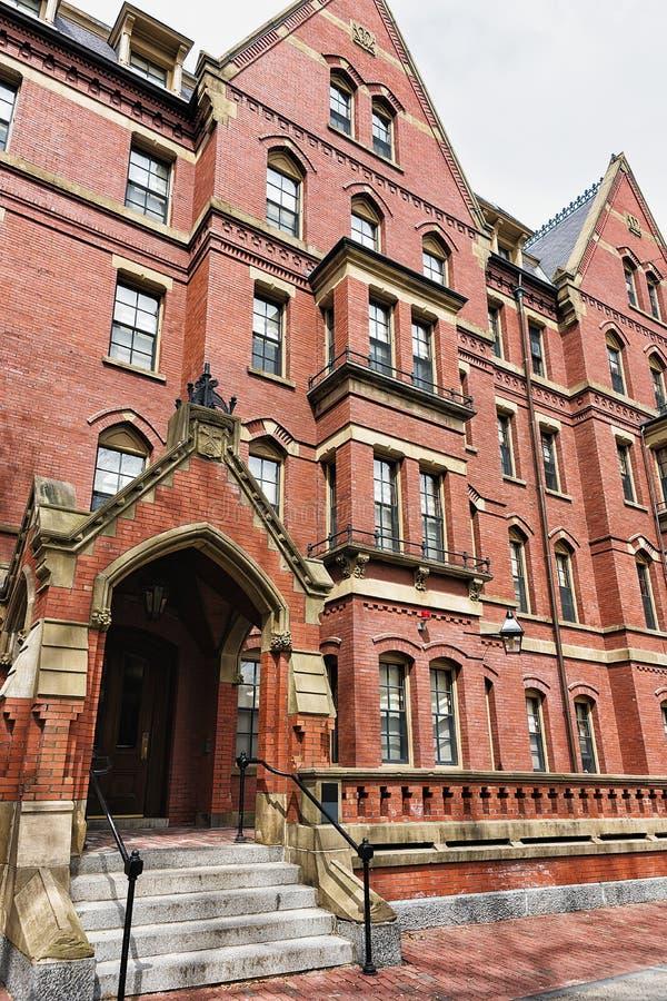 Transept мемориального Hall Гарвардского университета Кембриджа стоковое изображение rf