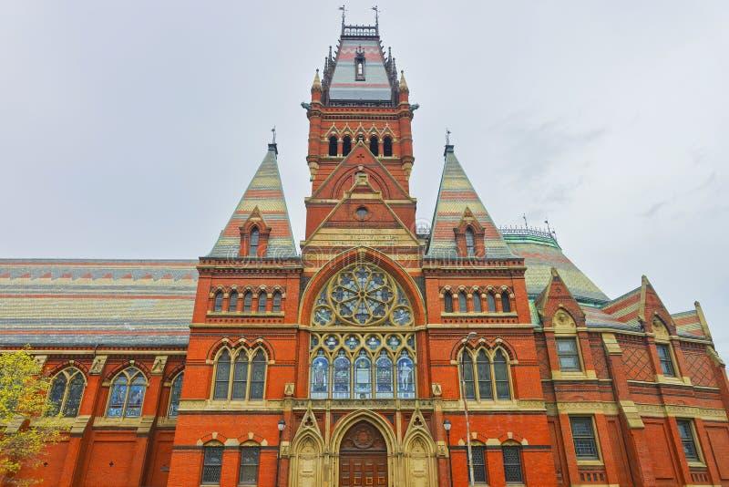 Transept мемориального Hall в Гарвардском университете Кембриджа стоковая фотография