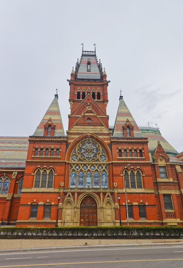 Transept мемориального Hall Гарвардского университета в Кембридже стоковая фотография rf